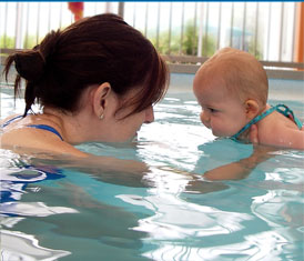 parent and child learn to swim classes