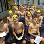 Swimming competetion