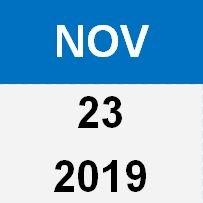 23 Nov 19